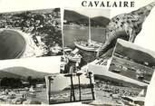 """83 Var  CPSM FRANCE 83 """"Cavalaire  sur Mer, souvenir"""""""