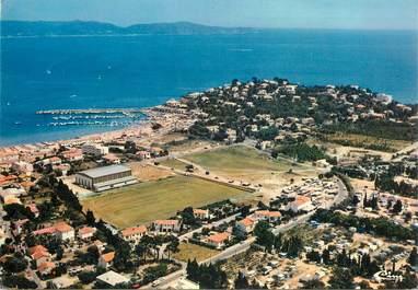 """CARTE PHOTO FRANCE 83 """"Cavalaire  sur Mer, vue aérienne , le stade"""""""