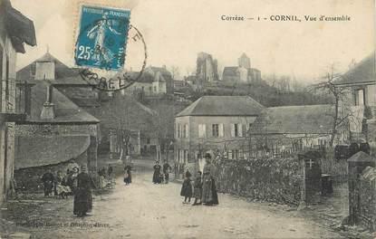""".CPA FRANCE 19 """" Cornil, Vue d'ensemble"""""""