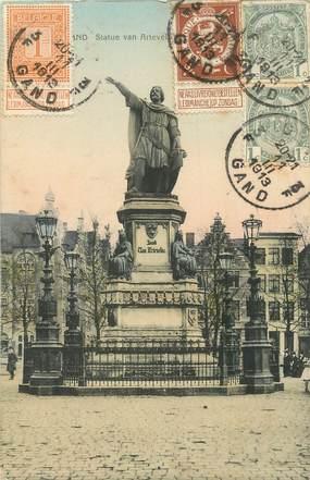 """CPA BELGIQUE """"Gand, Statue"""""""