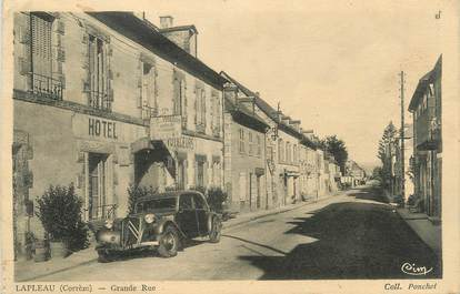 ".CPA FRANCE 19  ""Lapleau, Grande rue"""