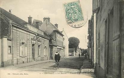 """CPA FRANCE 77  """"Lieusaint, La Mairie"""""""