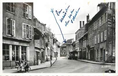 ".CPSM FRANCE 19  ""Lubersac, Rue St Jean"""