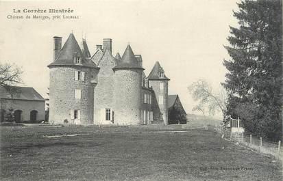""".CPA  FRANCE 19  """"Marèges, Le château"""""""