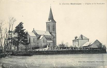 """.CPA  FRANCE 19  """"Madranges, L'église et le presbytère"""""""
