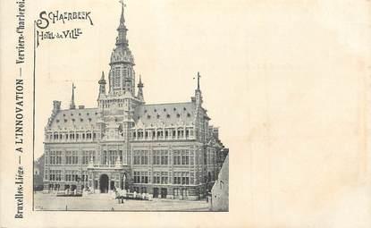 """CPA BELGIQUE """"Schaerbeek, Hotel de ville"""""""