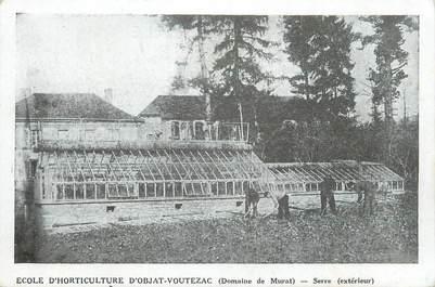 """.CPA  FRANCE 19  """"Objat,-Voutezac, Ecole d'Horticulture, Serre"""