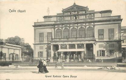 """CPA EGYPTE """"Le Caire, Grand Kedivial Opera House"""""""