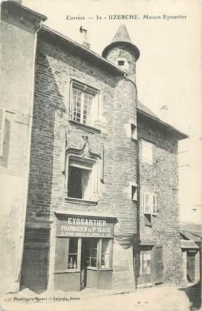 ".CPA FRANCE 19 ""Uzerche, Maison Eyssartier"""