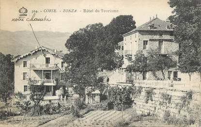 """.CPA FRANCE 20/CORSE """"Zonza, Hôtel du Tourisme"""""""