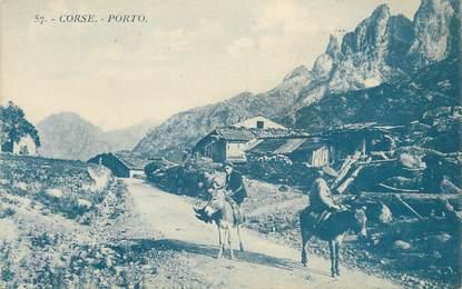 """.CPA FRANCE 20 / CORSE """"Porto"""""""