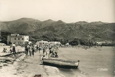 """CPSM ESPAGNE """"Rosas, la plage"""""""