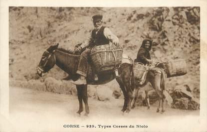 ".CPA FRANCE 20 / CORSE ""Types Corses du Niolo"""