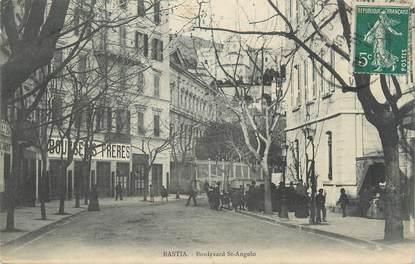 ".CPA FRANCE 20 / CORSE ""Bastia,  Boulevard St Angelo"""