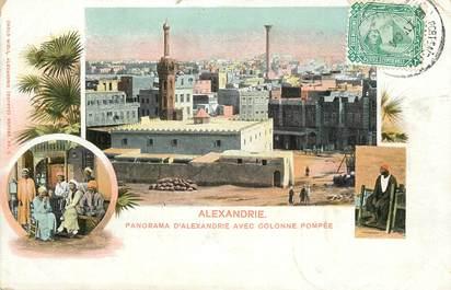 """CPA EGYPTE """"Alexandrie, Panorama avec la colonne Pompée"""""""