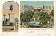 """Egypte CPA EGYPTE """" Alexandrie, Statue de Mohamed Ali et Place des Consuls"""""""