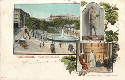 "CPA EGYPTE ""Alexandrie, la Place des Consuls"""