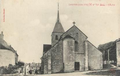 """.CPA  FRANCE 21  """"Laignes, L'église"""""""
