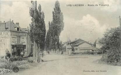 """.CPA  FRANCE 21  """"Les Laumes  - Route de Venarey"""""""