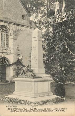 """.CPA  FRANCE 21  """"Jouey, Le monument aux morts"""""""