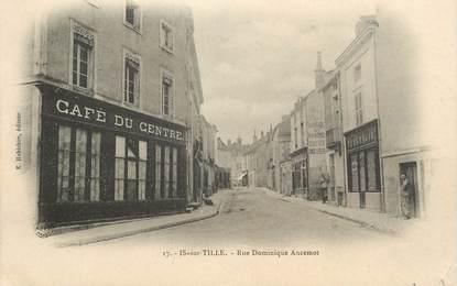 """.CPA FRANCE 21 """"Is sur Tille, Rue Dominique Ancenot"""""""