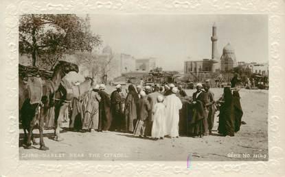 """CPA EGYPTE """"Le Caire, le marché près de la Citadelle"""""""