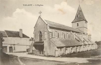 ".CPA   FRANCE 21 ""Talant, L'église"""