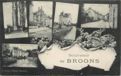 """.CPA  FRANCE 22 """" Broons, Vues"""""""