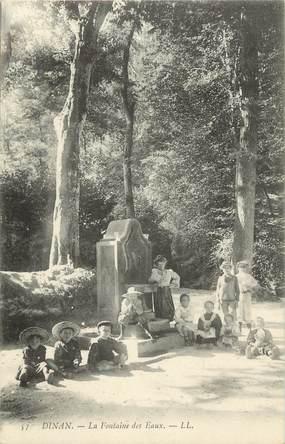 """.CPA   FRANCE 22 """" Dinan, La fontaine des eaux"""""""