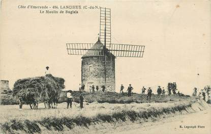 """.CPA  FRANCE 22 """" Lancieux, Le moulin du Buglais"""""""