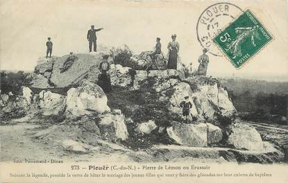 """.CPA   FRANCE 22 """" Plouër, Pierre de Lémon """""""
