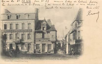 """.CPA FRANCE 22 """"Paimpol, Hôtel Continental, rue de l'église"""""""