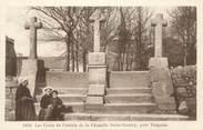 """22 Cote D'armor .CPA FRANCE 22 """"St Brieuc, Les croix de la chapelle St Gonéry"""""""