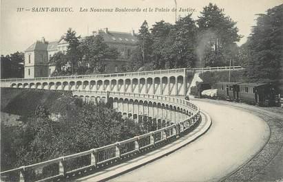 """.CPA FRANCE 22 """"St Brieuc, Nouveaux Boulevards et Palais de justice"""""""