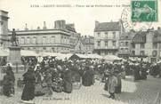 """22 Cote D'armor .CPA FRANCE 22 """"St Brieuc, Place de la Préfecture"""""""
