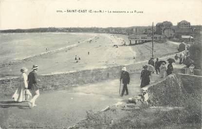 """. CPA FRANCE 22 """" St Cast, La descente à la plage"""""""