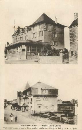 """. CPA FRANCE 22 """" Isle - St Cast, Hôte Bon Abri"""""""
