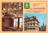 """76 Seine Maritime CPSM FRANCE 76 """"Caudebec en Caux, Hotel restaurant le Normandie"""""""