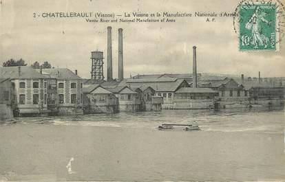 """. CPA FRANCE 86 """"Chatellerault, La Vienne et la manufacture nationale d'armes"""""""