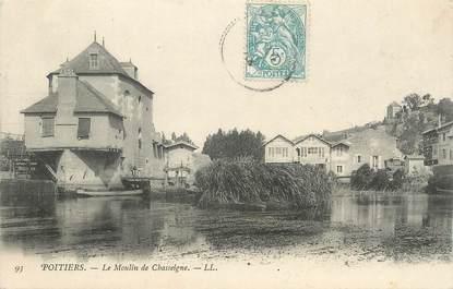""". CPA FRANCE 86 """" Poitiers, Le moulin de Chasseigne"""""""