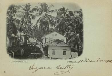 "CPA  INDE "" Bombay, Girgaum Road"""