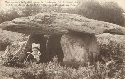 """CPA FRANCE 29 """"Dolmen de Saint Maudez près Pont Aven"""""""
