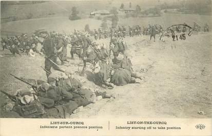 """CPA FRANCE 77  """"Lizy sur Ourcq, L'Infanterie"""""""