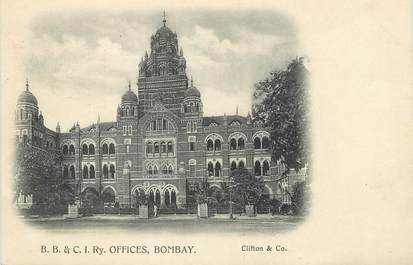 "CPA  INDE "" Bombay, BB & CI Ry Officies"""