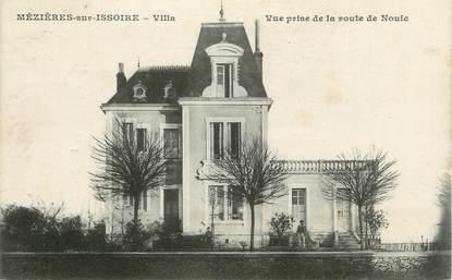 """. CPA  FRANCE 87 """"Mézières sur Issoire, Villa"""""""