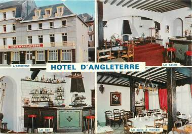 "CPSM  FRANCE 76 ""Fécamp, Hotel d'Angleterre"""