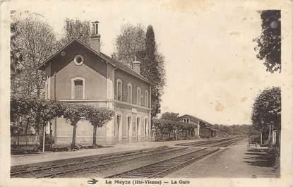 """. CPA  FRANCE 87 """"La Meyze,, La gare  """""""