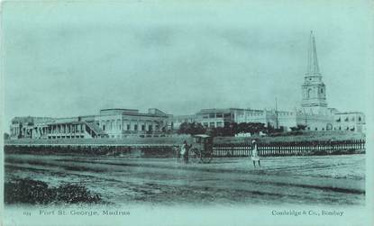 "CPA  INDE ""  Fort Saint George, Madras"""