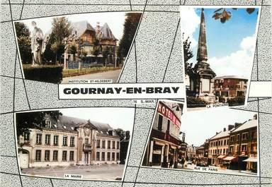 "CPSM  FRANCE 76 ""Gournay en Bray"""