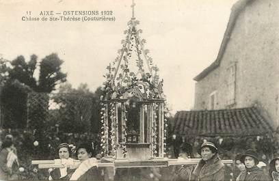 """. CPA FRANCE 87 """"Aixe, Ostensions 1932, Châsse de Ste Thérèse, couturières"""""""